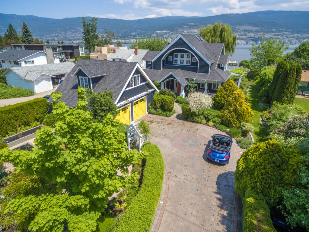 Property with large backyard in Penticton